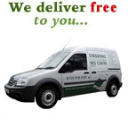 We deliver free to you...