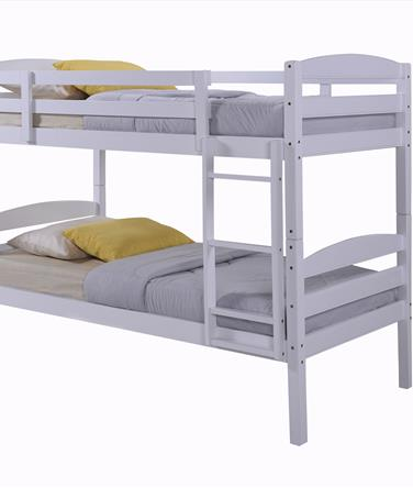 Chatsworth White Wooden Bunk Bed