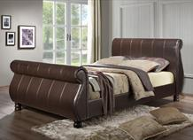 Faux Leather & Fabric Bed Frames