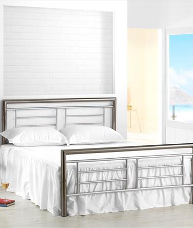 Montana Chrome Metal Bed