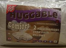 Hugg 2 Pack Memory Core Pillows