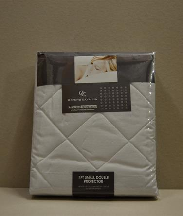 Quilted Mattress Protector (inc 3/4 size)