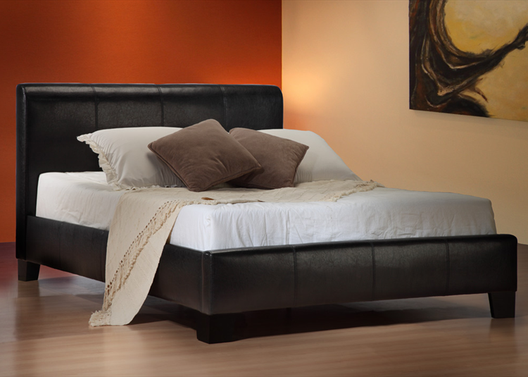Sale brooklyn faux leather bed staddons beds for Black friday bed frames sales