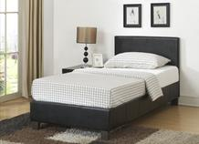 Single Berlin Leather Bed Frame Combo Deal - £119 with mattress!!
