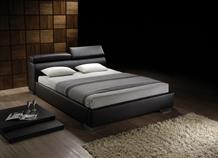 Signature Faux Leather Bed Frame