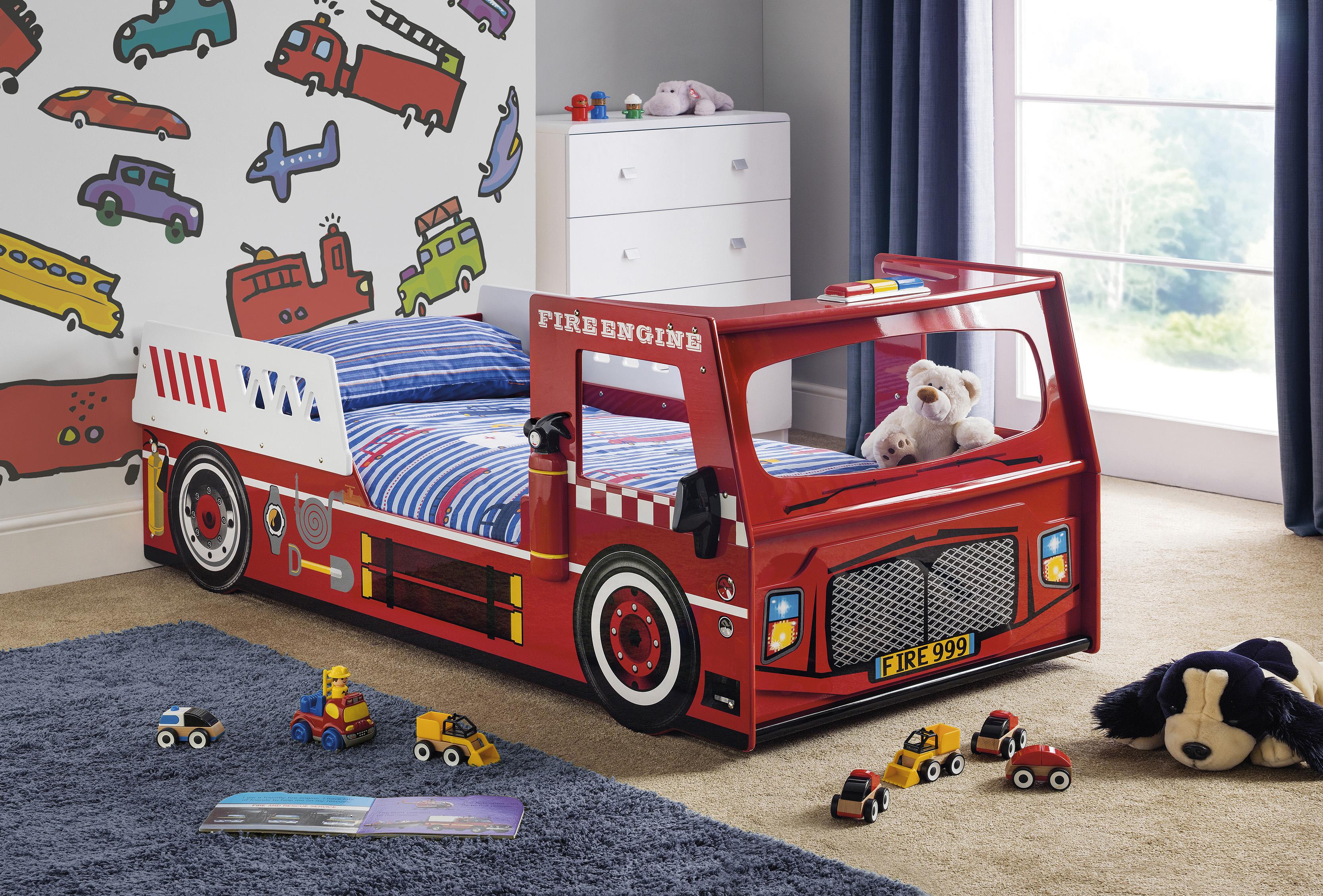 Samson Fire Engine Bed Frame