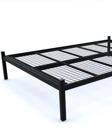 Wrought Iron Platform Bed Frame, Wrought Iron Queen Platform Bed