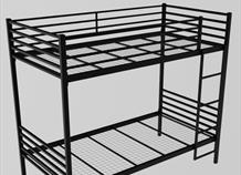 Wrought Iron Metal Bunk Bed