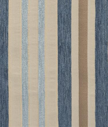 Stripe Chenille Blue